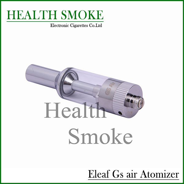 Hot sell Genuine Eleaf iStick GS air Atomizer 2.5ml capacity iSmoka GS air atomizer Steel and Pyrex glass free shipping(China (Mainland))