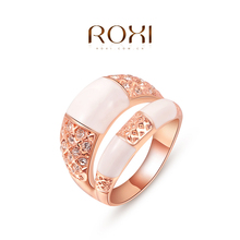 ROXI romantic  gold plated classic luxury ring set with AAA zircon cystal fashion engagement wedding jewelry& gift 2010423390
