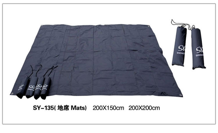 Waterproof Oxford cloth canopy tent ground cloth mat moisture pad cushion rain(China (Mainland))