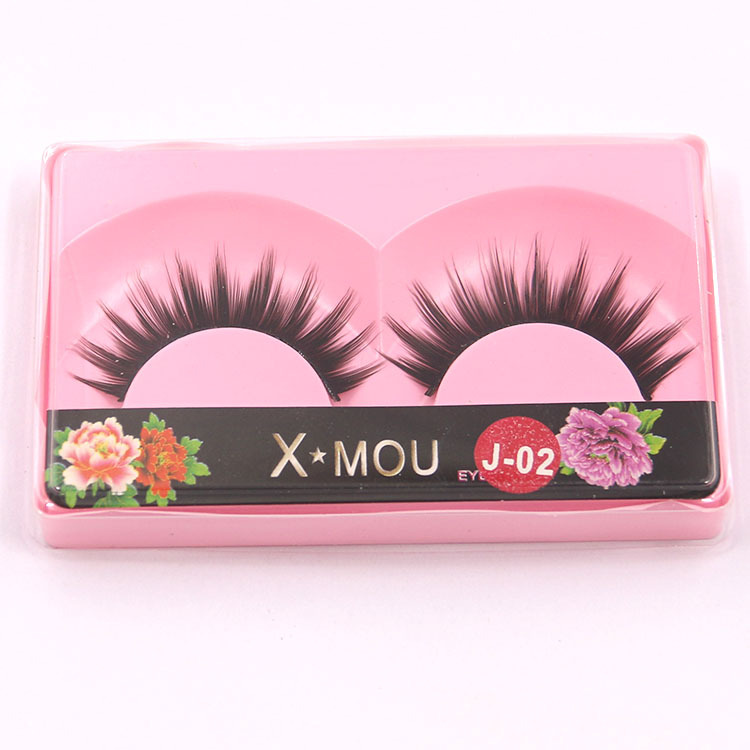 Fake False Mink Eyelashes Extension Halloween Curler Lashes for Building Make Up Eye Lashes Beauty Cilios Posticos J02(China (Mainland))