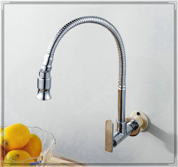 brand new single cold wall mounted kitchen faucet bathroom faucets price<br><br>Aliexpress