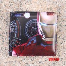 جديد محفظة جلدية محفظة الكرتون النساء الرجال حقيبة Overwatch جينجي الجمجمة محافظ المحافظ الأطفال صبي فتاة هدايا حالة شحن مجاني(China)