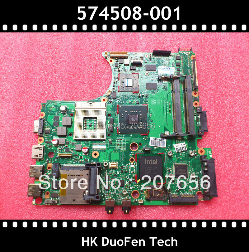 574508-001 motherboard for HP ProBook 4510S 4710S 4411s, 100% working with warranty service !(China (Mainland))