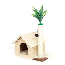 Domestic Delivery Cat House Toy Scratching Wood Climbing House Cat Scratchers Jumping Toy for Cat Furniture