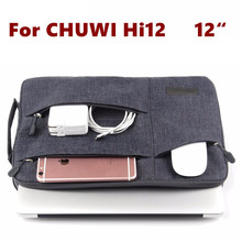 Fashion Sleeve Bag For CHUWI Hi12 Tablet Laptop Pouch Case Chuwi HI 12 CW02 Handbag Protective Skin Cover +Stylus As Gift(China (Mainland))