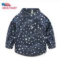 Fashion Boys Girls Shirt 2016 Hot Sale New Spring Autumn Full Sleeved Shirt Cotton Kids Shirts