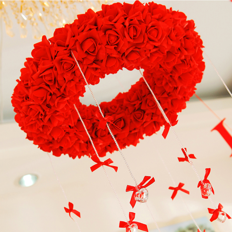 Hangings wedding decoration garland new house supplies - Love Heart Home Decor store
