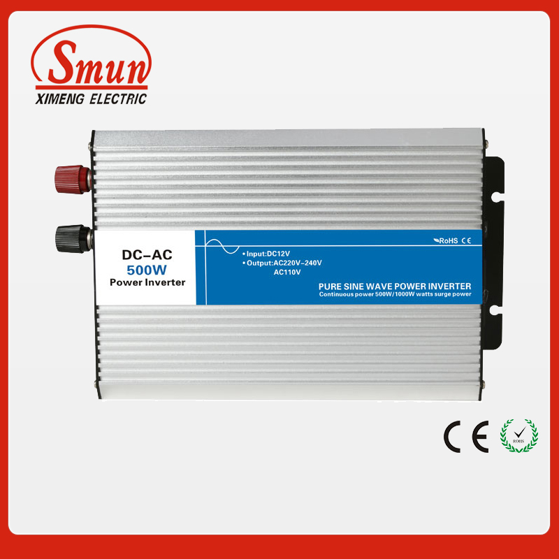 500W 24VDC to 220VAC pure sine wave inverter with UPS function for solar panel and home appliances(China (Mainland))