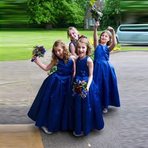 Платья для девочек с букетом из Китая