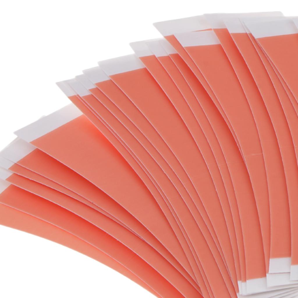 36 шт./упак. прочный двухсторонний волос клейкая лента для париков дышащая