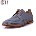 New fashion summer Suede men flat casual shoes man work flats driver footwear breathable shoe outdoor