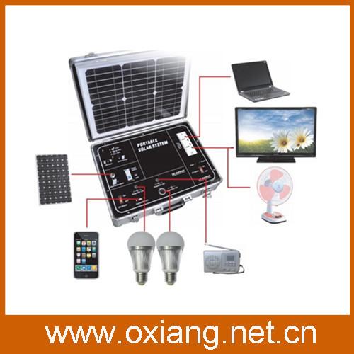 Unique design high technology 500W mini portable AC  220V/110Vsolar generator / small solar powered generator SP500A(China (Mainland))