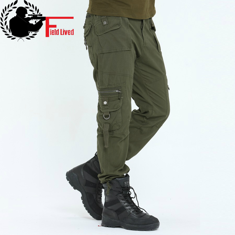 Online Get Cheap Mens Cargo Pants with Lots of Pockets Mens ...