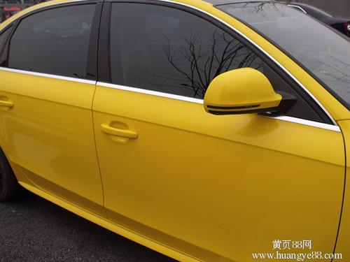 2015 new Wholesale Price 1.52m*50cm Yellow MATTE finish Vehicle Wrap Vinyl car sticker free shipping(China (Mainland))
