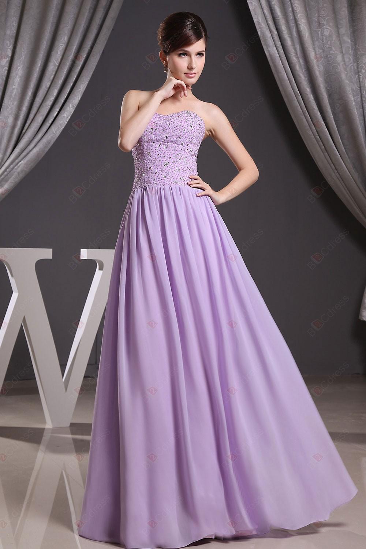 Элегантный фиолетовый оболочка off-the-плечи бисероплетение шифон горячая распродажа пром платье милая-образным вырезом платья выпускного вечера ZZA854