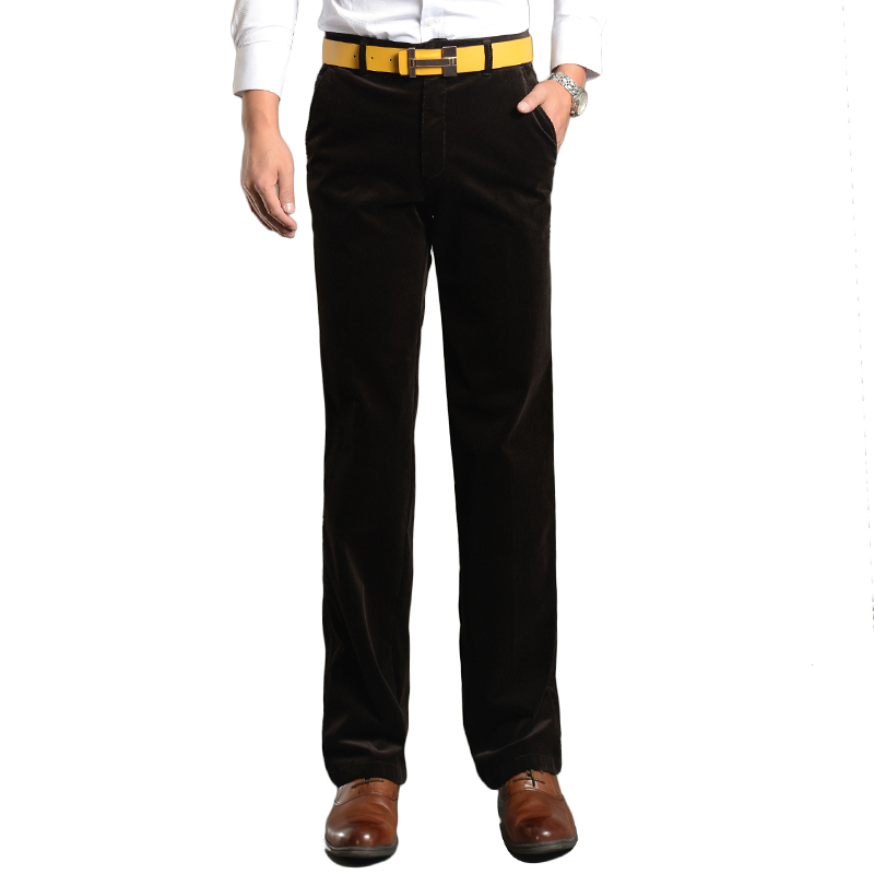 Commercial straight corduroy trousers 2015 autumn winter thickening quality multicolor elastic casual pants 5301 - yunian li's store