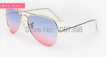 Women Sunglasses Newest Fashion brand designer Sunglasses Frog Mirror Gradient Unisex Sunglasses 5 Color free shipping
