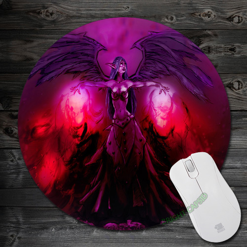Anti-slip Pads Fallen Angel Morgana 02 Cartoon Round Soft for Speed Mice pad Mat gamer Mousepads for Optical Mouse Pad<br><br>Aliexpress