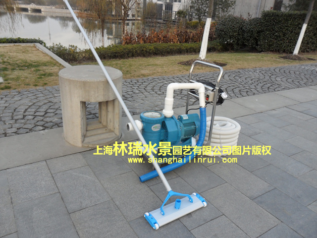 Swimming pool underwater vacuum cleaner cleaning machine for Garden pond cleaning nets