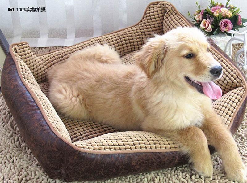 Large Dog Bed Mat Cushion Washable Warm Soft Fleece Pet House Kennel Cushion Luxury Sofa Bed Pet Products PT0027 (14)