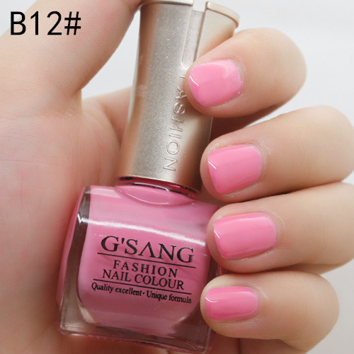 wholesale 48pcs bulk nail lacquer polish gsang glaze brand china sweet color lacquer nail art varnish enamel by free shipping(China (Mainland))