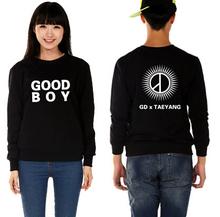 Buy Kpop bigbang crewneck black white sweatshirt gd&taeyang boy hoodies g-dragon autumn vip's supportive hoodie plus size for $16.73 in AliExpress store