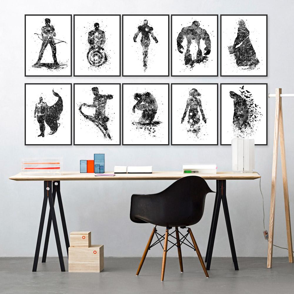 Online kopen wholesale batman posters uit china batman posters groothandel - Deco originele muur ...