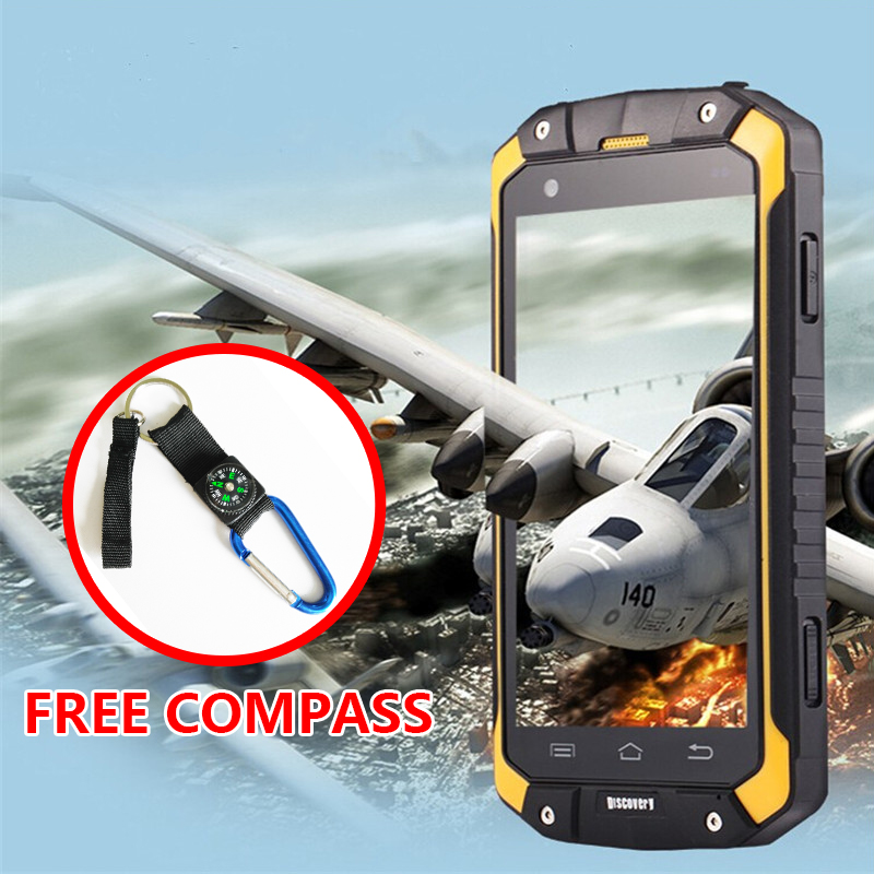 "Original Guophone V9 4.5"" IP68 waterproof mobile phone Android 4.4 MTK6572 Dual Core 512RAM 4GB ROM Dustproof Shockproof Phone(China (Mainland))"