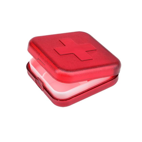 New 4 Slot Health Medicine Pill Case Cover Portable Organizer Box Container Storage(China (Mainland))
