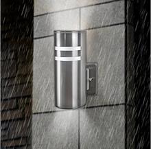 Plw01 applique murale d'extérieur étanche cylindre porche Arandela c - ul US lampe de mur de Led mur applique luminaires pour jardin(China (Mainland))