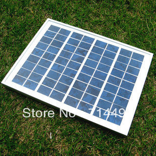 New hot polysilicon 5W18V photovoltaic solar panels / solar module / rechargeable 12V batteries free shipping