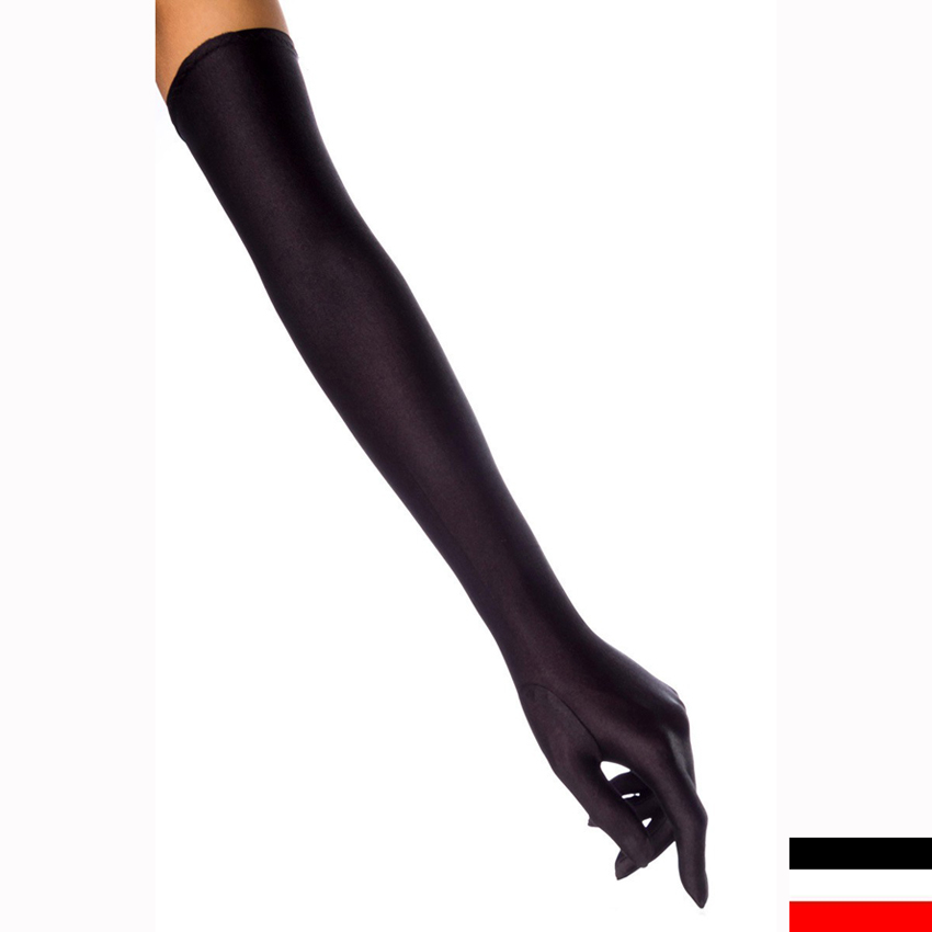 Creative   The Clarets  Womens Leather Dress Gloves With Long Fingers