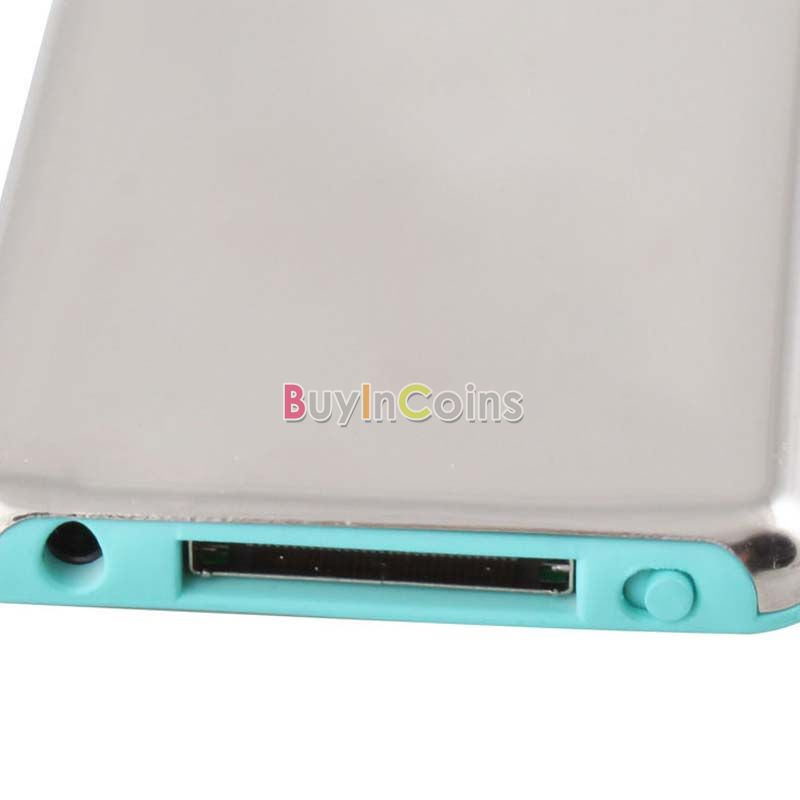 8GB Silver 1.8 inch LCD MP3 MP4 Player 8GB FM Slim 3RD Gen Media Player US AS #2067(China (Mainland))