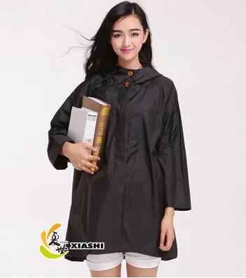 2015 fashion thin raincoats trench chubasquero mujer women coat waterproof &breathable cloak capa de chuva outdoors rain ponchos(China (Mainland))