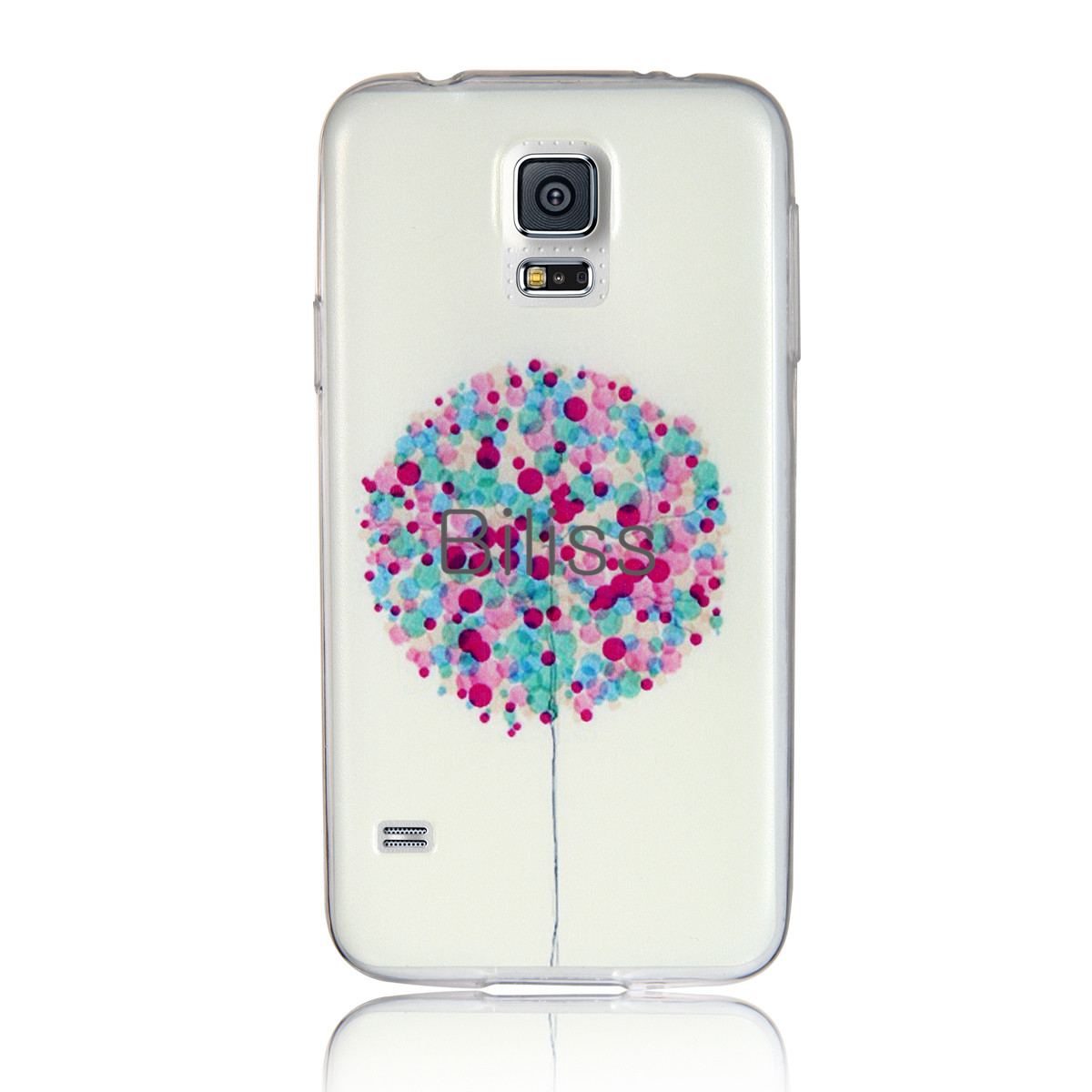 Hot sale Cheapest Fashion 0.3mm Ultra Thin Colorful balloons Pattern Soft TPU Case Cover For Samsung Galaxy S5 Cell Phone Shell(China (Mainland))