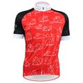 New Red Black MEOW Alien SportsWear Womens Cycling Jersey Cycling Clothing Bike Shirt Size 2XS TO