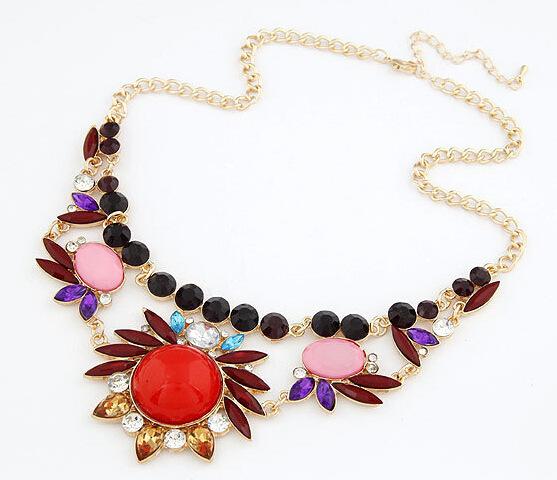 produto 2015 New Women Corloful Necklaces Fashion Jewelry Mixed Style Irregular Bubble Bib Statement Necklaces & pendants meus pedidos