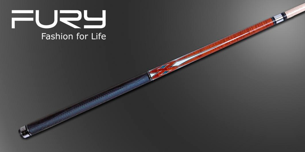 Fury Pool Cue Model AG-106/ EXII Technology Shaft/Grade A Maple Pool Cue/11.75mm&12.75mmTip (optional) Shaft/Free shipping(China (Mainland))