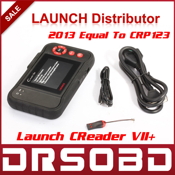2015 New Released Auto Code Reader Launch X431 Creader VII+ Equal to CRP123 ABS SRS Creader VII Plus Update Via Offical Website(China (Mainland))