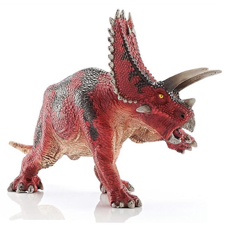 Jurassic Park Carnivorous Dinosaur Toy Tyrannosaurus Rex Triceratops Classic Toys For Boys Collection Animal Model KL0015