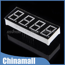 """5PCS/LOT 4 Digit 7 Segment 0.56"""" Red 5461AS LED Display Common Cathode Time 12 Pins For Arduino Free Shipping & Drop Shipping(China (Mainland))"""