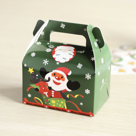 Buy green christmas gift boxes christmas for Application box decoration
