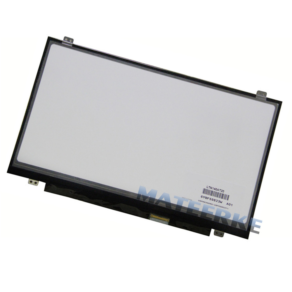 Free shipping 14.0 laptop led screen LP140WH2 LTN140AT20 LTN140AT28 N140B6-L06 B140XW02 V.1 B140XW03 V.0 LTN140AT08 LTN140AT11<br><br>Aliexpress