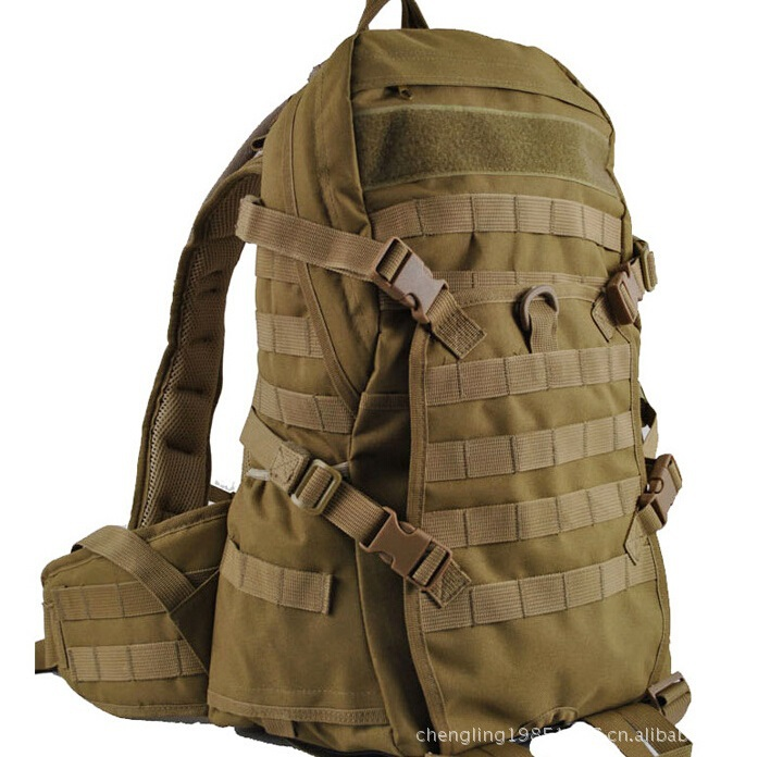 Free Knight TAD Camouflage Backpack Fashion Bags Waterproof Molle Military Assault Men Casual Bag 38L  -  Jungle Men store