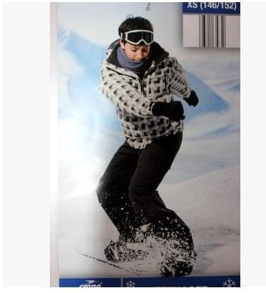 Winter Ski Suit Boy male Skiing Pants Jacket Kids' Suits Child Pant Waterproof Trouser Windproof k19a - Chuck Zarek store