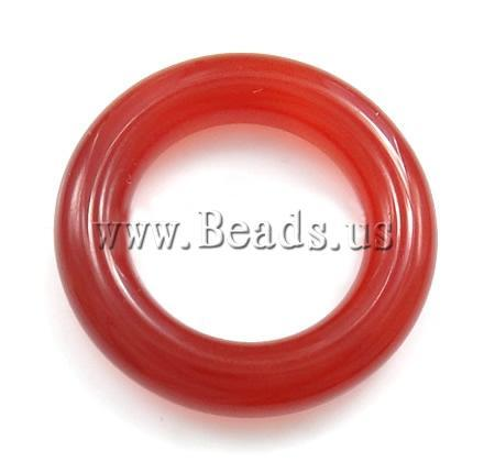 Free shipping!!!Red Agate Pendants,High Quality Jewelry, Donut, 35x35mm, 10PCs/Bag, Sold By Bag