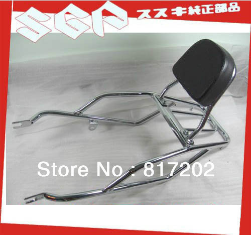 GN250 luggage rack with back rest REAR CARRIER COMPLETE