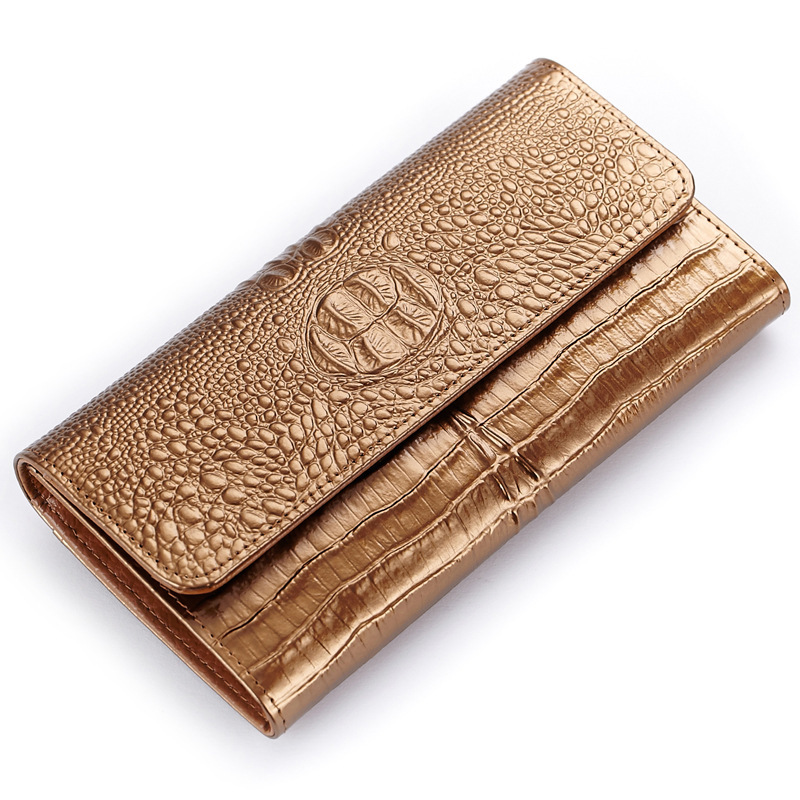 New Fashion Vintage Alligator PU Leather Womens Long Wallets And Purses Designer Wallets Famous Brand Women Wallet 2015 BL2831(China (Mainland))