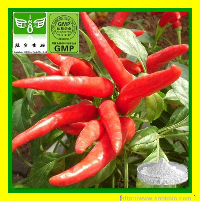 1000g[Discount]100% Natural Plant Extract Red Pepper Extract 90%-98% Dihydrocapsaicin(China (Mainland))