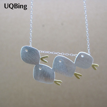 Buy 2015 New 925 Sterling Silver Fish Necklaces & Pendants Pure Sterling Silver Choker Chain Necklace Jewelry Collar Colar de Plata for $4.64 in AliExpress store